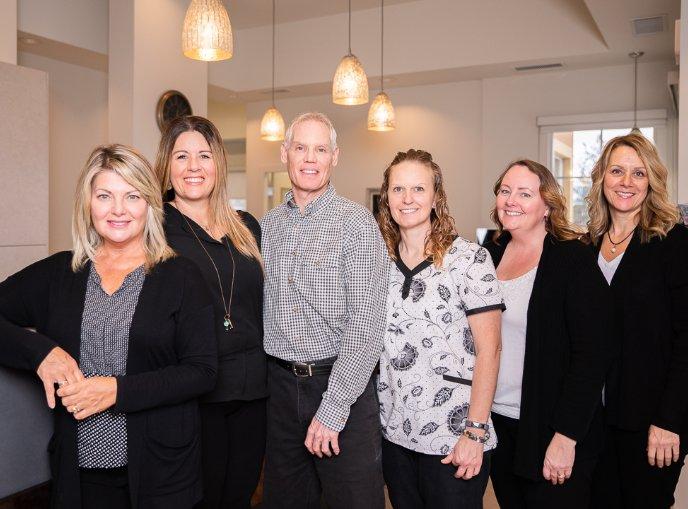 kelowna orthodontist westside-orthodontic-centre-team-photo
