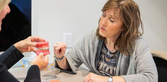 kelowna orthodontist westside-orthodontics-patient-meeting-west-kelowna